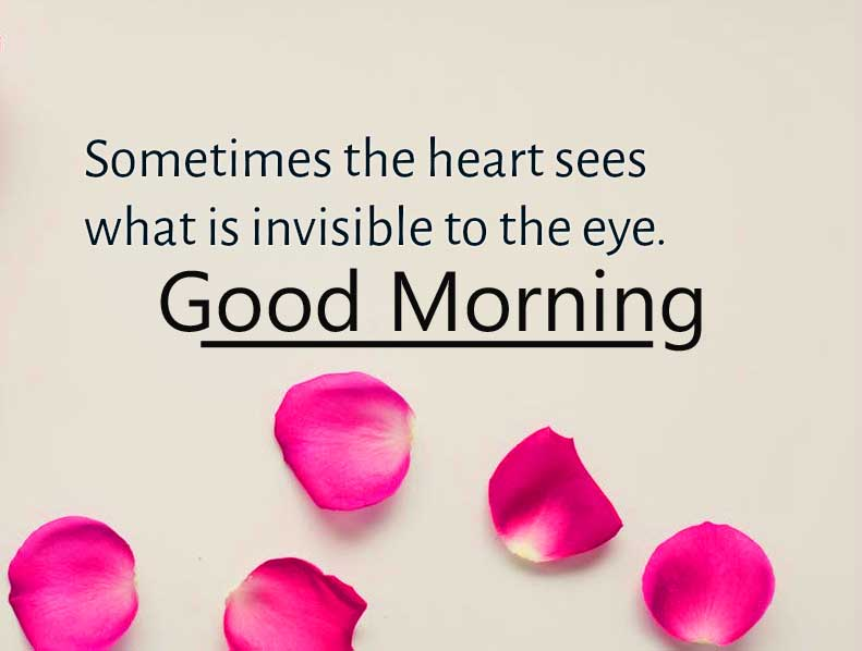 Love Quote Pic with Good Morning Wishing