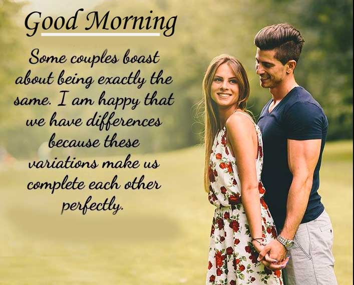 Love Quote for Wife with Good Morning Wishing Copy