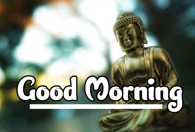Lovely Buddha Good Morning Image