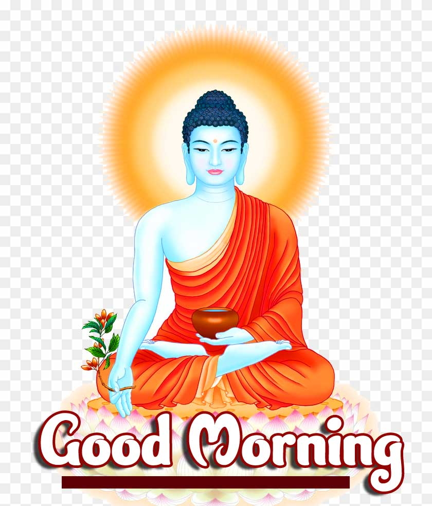 Lovely Buddha Good Morning Pic