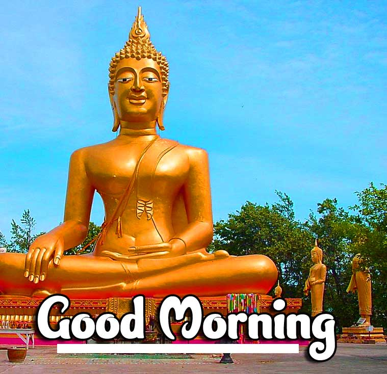 Lovely Gautam Buddha Good Morning Pic