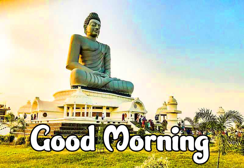 Lovely Gautam Buddha Good Morning Wallpaper