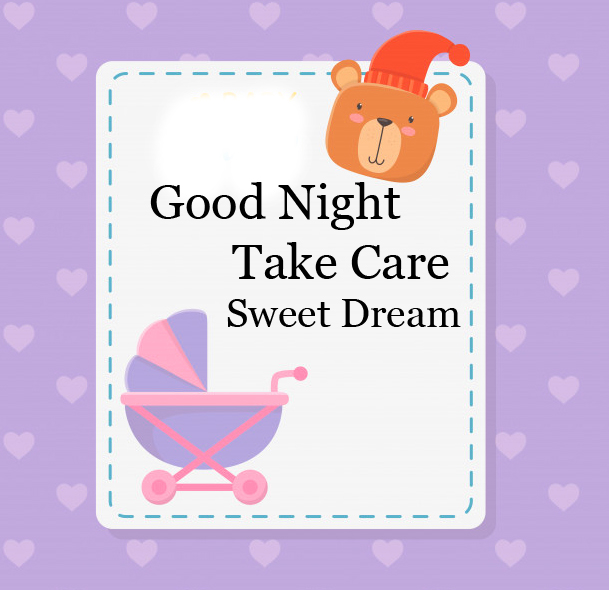 Lovely Good Night Card