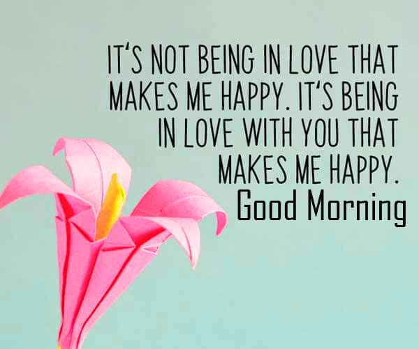 Lovely Quote for Wife with Good Morning Wishing Copy