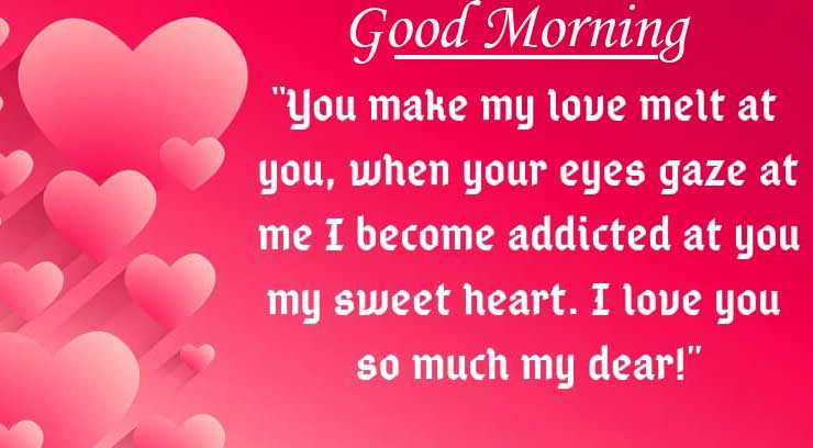 Lovely Quote with Good Morning Wishing Copy