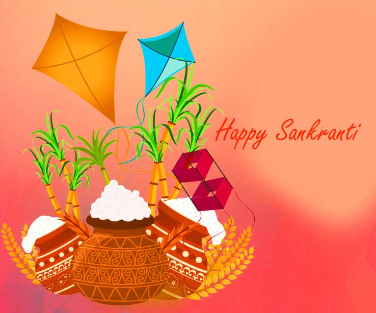 Lovely and Best Happy Sankranti Pic