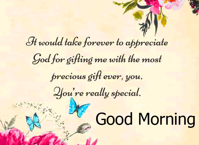 Lover Text with Good Morning Image