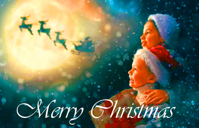 Merry Christmas Happy Children Image