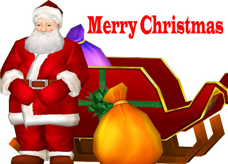 Merry Christmas Santa Wallpaper Full HD
