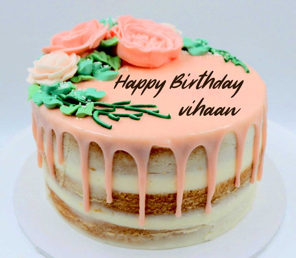 97+ Happy Birthday Cake with Name and Photo
