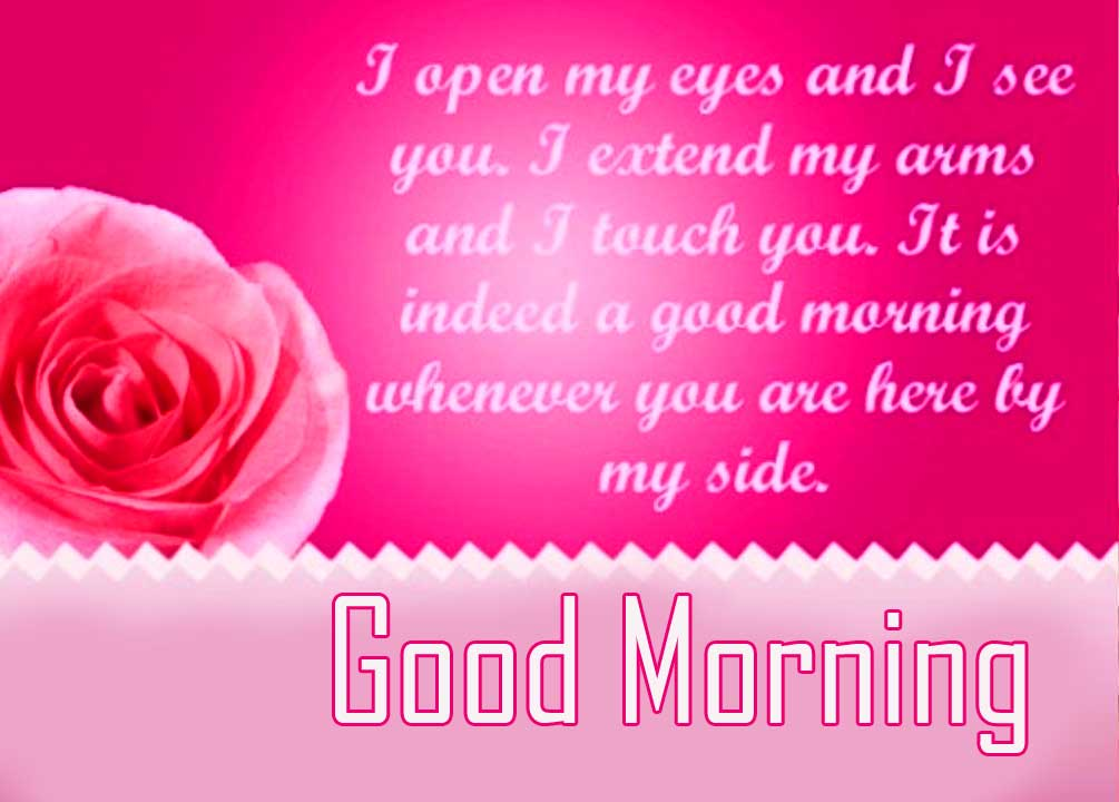 Pink Quoted Good Morning Image Copy