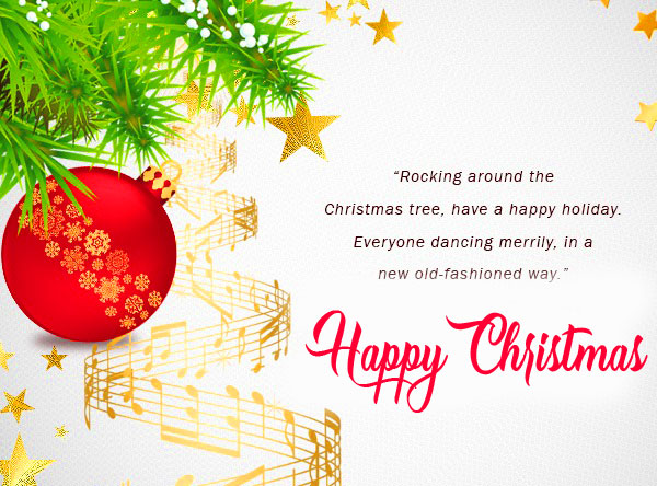 Quote Happy Christmas Wallpaper