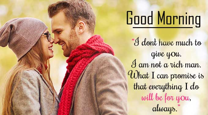 Quote for Wife with Good Morning Wish Copy
