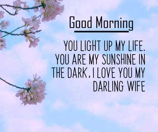 Quote of Love with Good Morning Wishing Copy