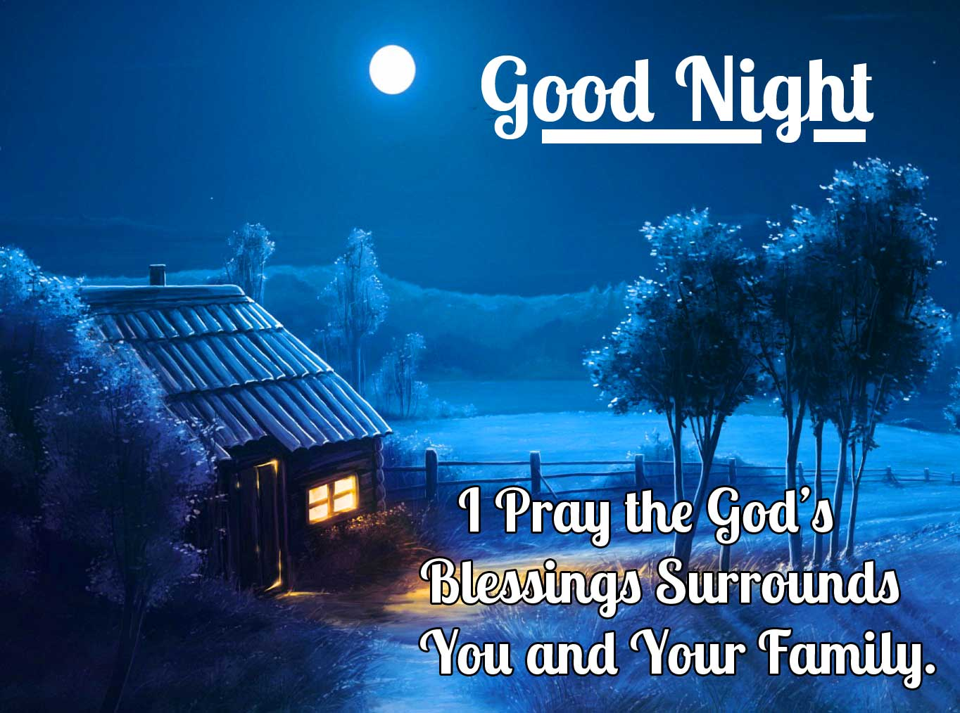 Quoted Good Night Night Sky Wallpaper