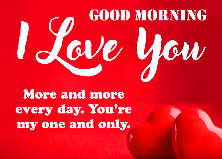 Quoted Love with Good Morning Wish