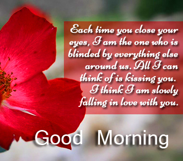 Quoted Romantic Good Morning Image