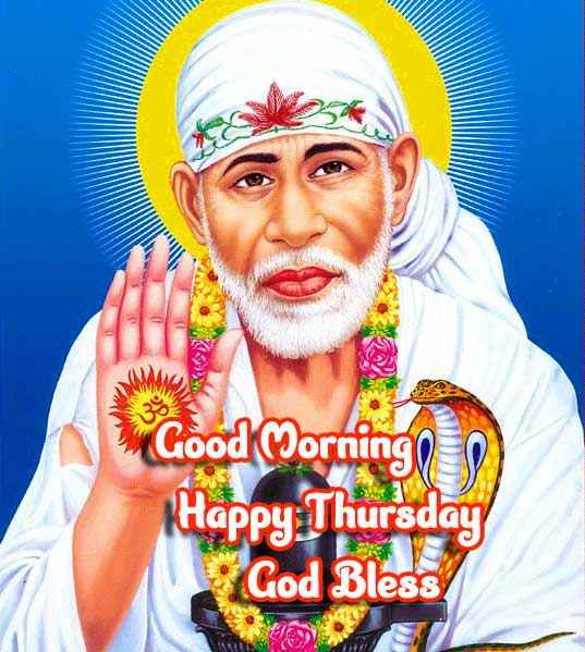 Quoted Sai Baba Good Morning Pic