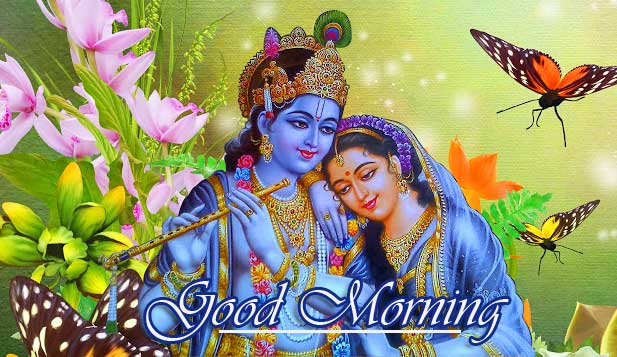Radha Krishna Good Morning HD Image