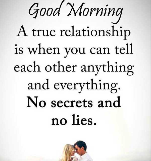 Romantic Quoted Good Morning Pic
