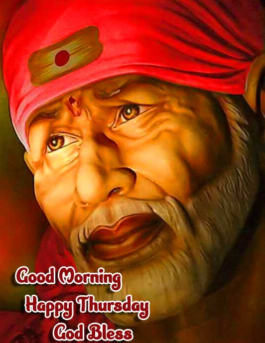 Sai Baba Good Morning Blessful Picture