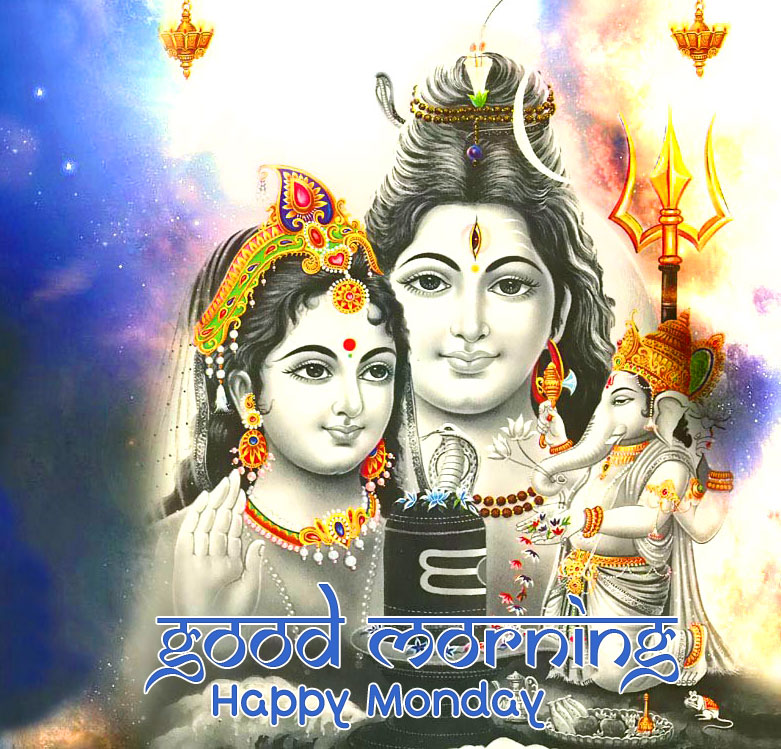 Shiv Shankar Good Morning Happy Monday Image