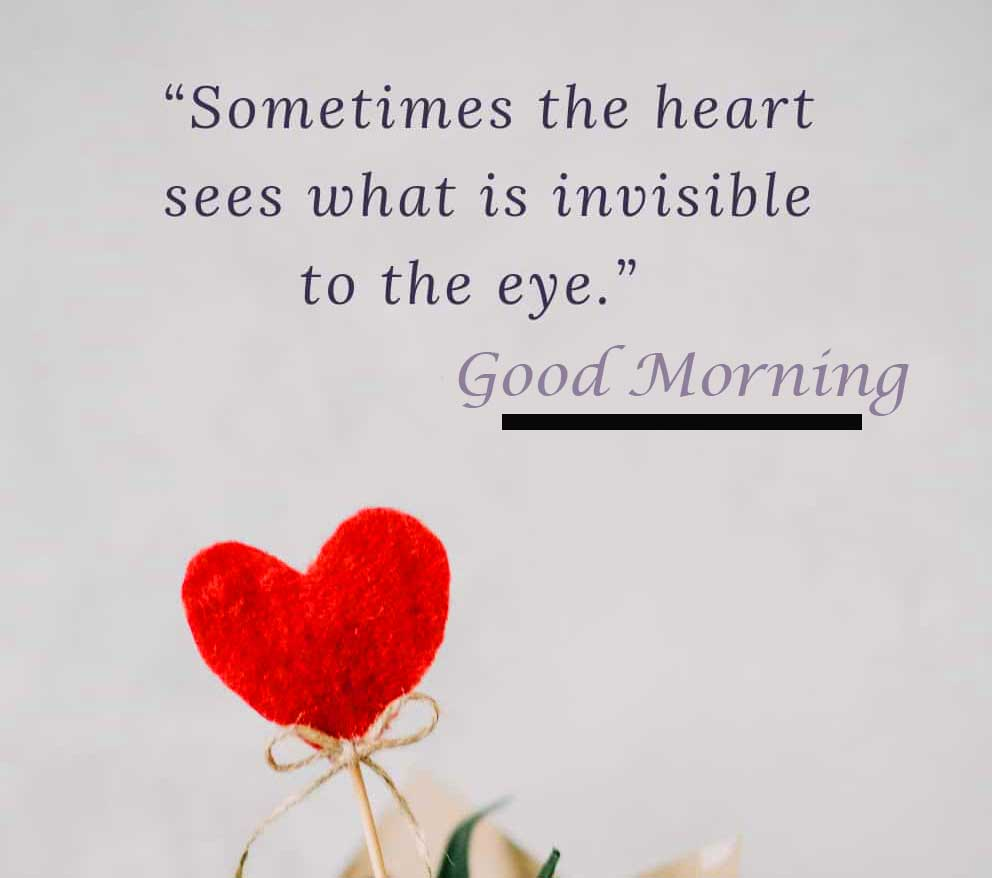 Short Quote About Love with Good Morning Wishing