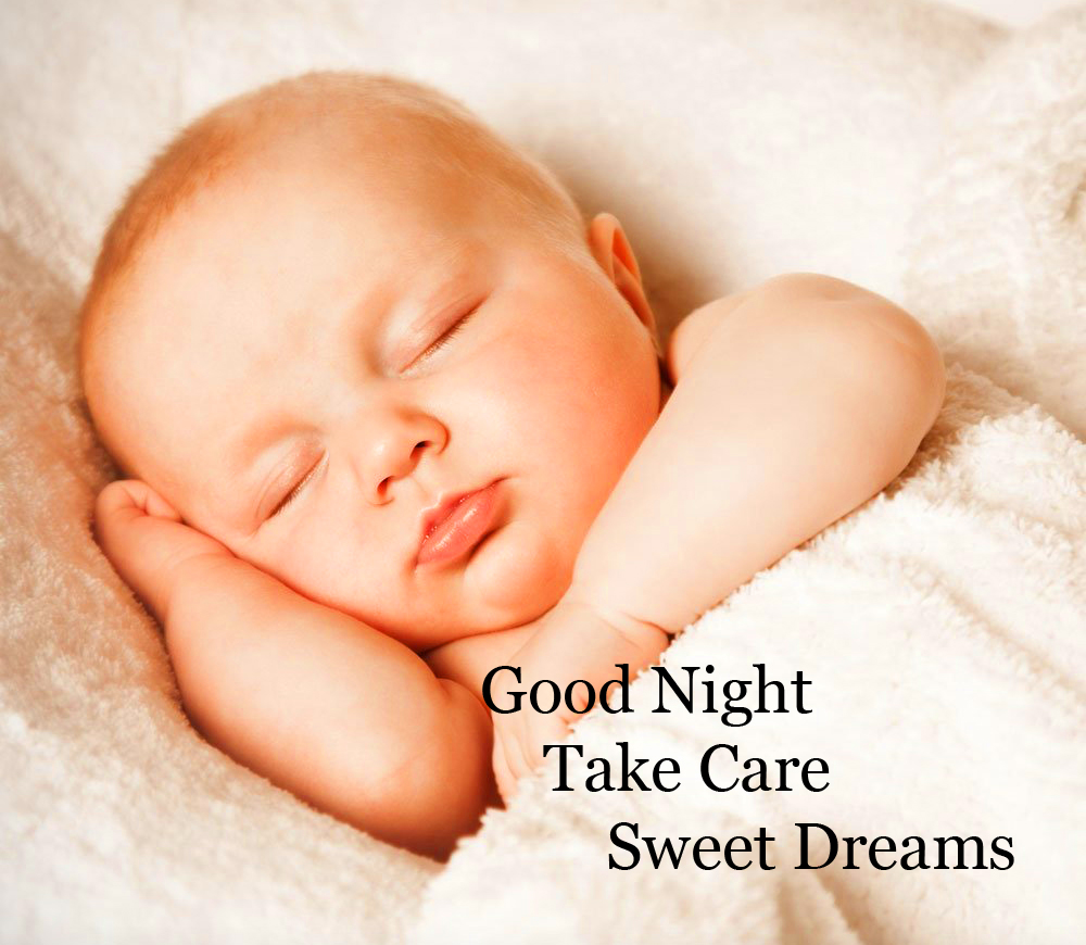 Sleeping Baby Good Night Image