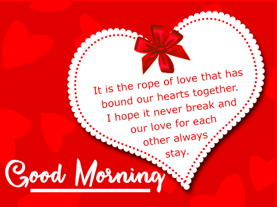 Sweet Love Quote with Good Morning Wish