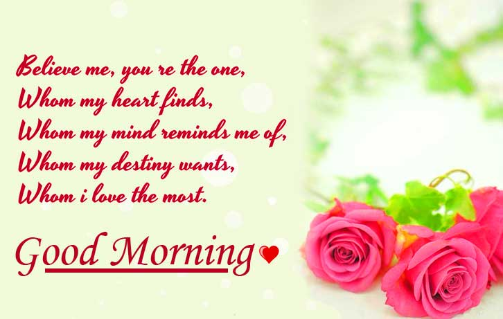Sweetest Love Message for Wife with Good Morning Wishing