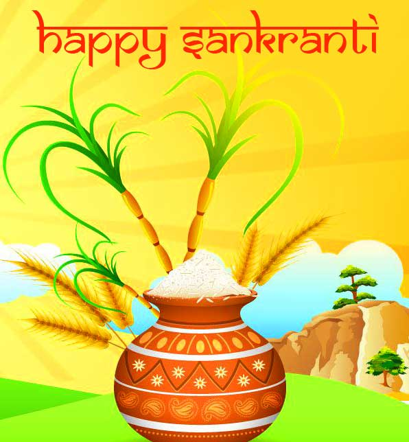 Traditional Happy Sankranti Image