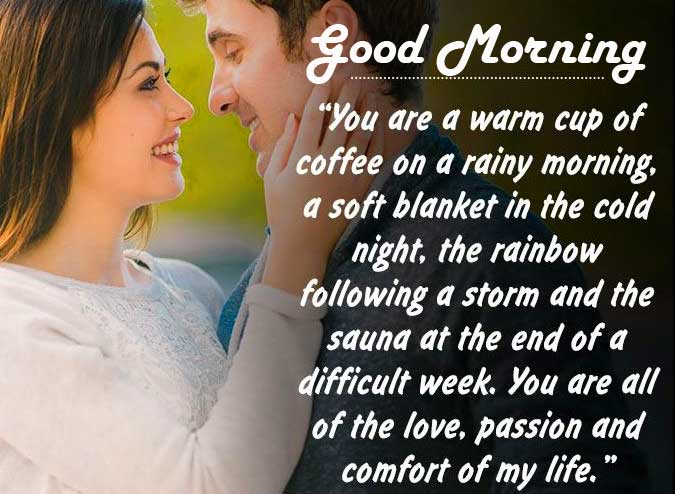 Wife Quote Image with Good Morning Wish
