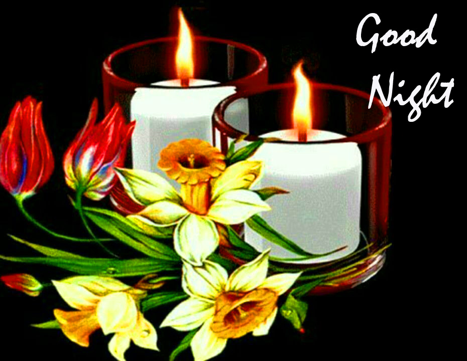Good Night Latest Candles Pic