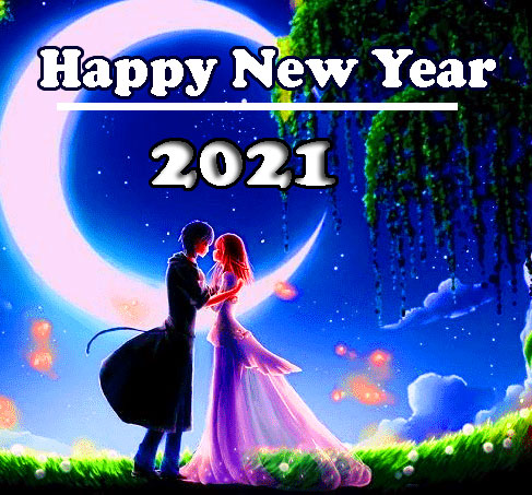 Romantic Happy New Year Image