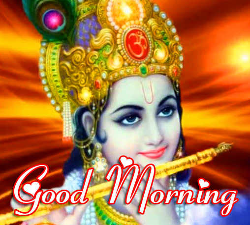 d Krishna Good Morning Image