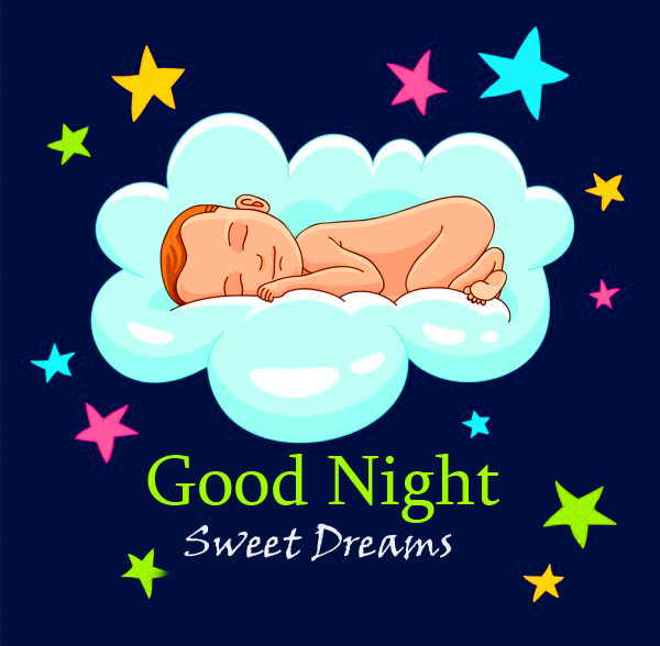Animated Baby Good Night Sweet Dreams Image