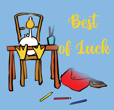 Animated Best of Luck Image