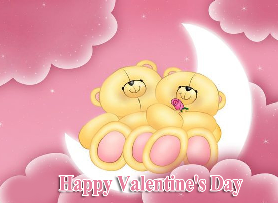 Animated Cute Happy Valentines Day Pic