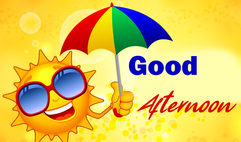 Animated Sun Good Afternoon Picture