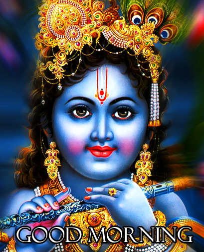 Bal Krishna Good Morning Image