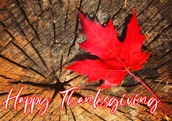 Beautiful Canadian Happy Thanksgiving Image