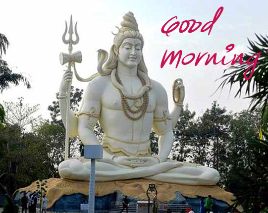 Beautiful Good Morning Lord Shiva Picture