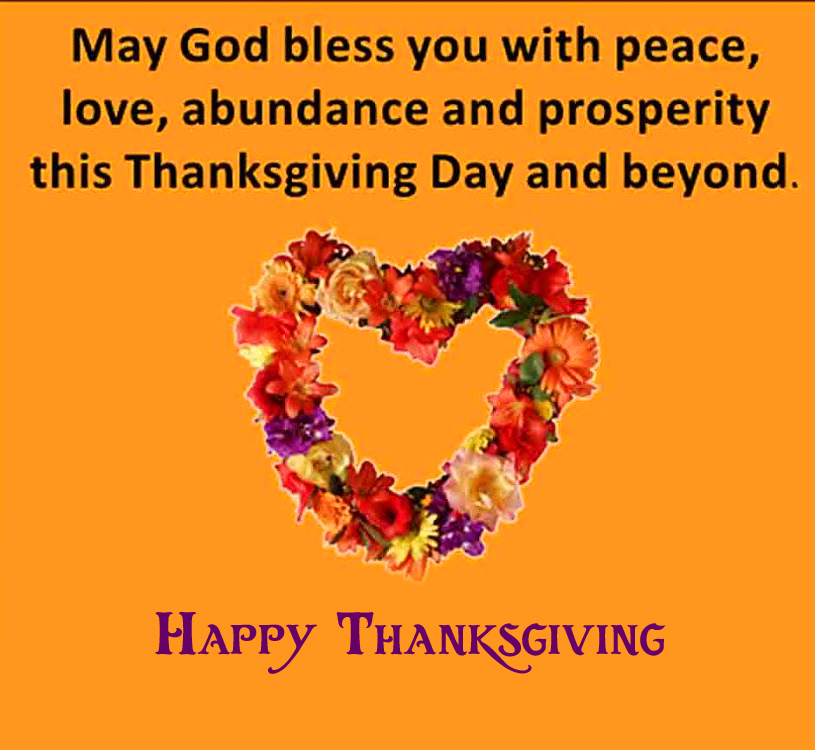 Beautiful Happy Thanksgiving with Quotes