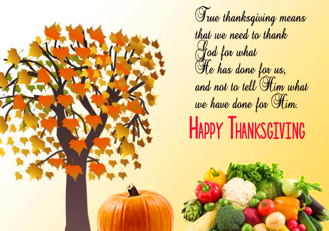 Beautiful Quotes Happy Thanksgiving Image