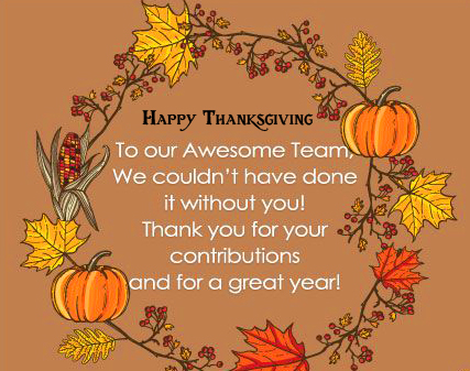 Beautiful Quotes with Happy Thanksgiving Image