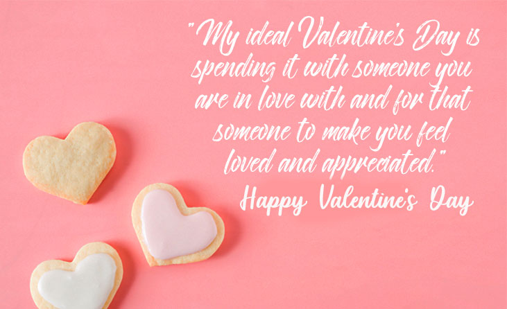 Beautiful Quotes with Happy Valentines Day Wish