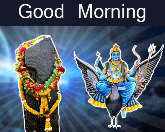 Beautiful and Best Shani Dev Good Morning Image
