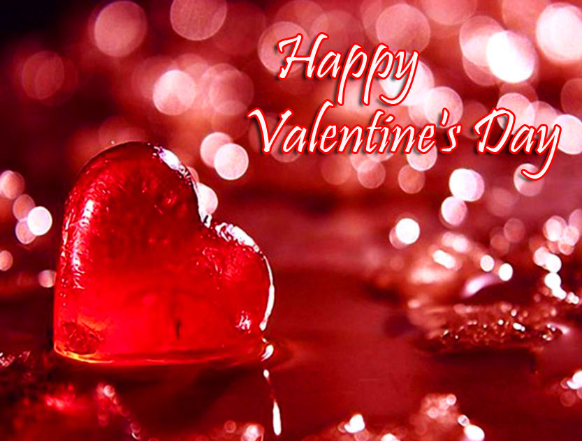 Beautiful and Romantic Happy Valentines Day Wallpaper