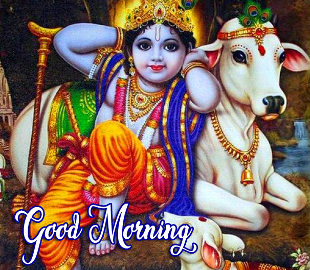 Best Bal Krishna Good Morning Image