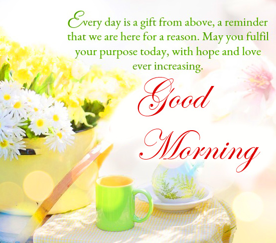 Best Good Morning Message Quotes Wallpaper